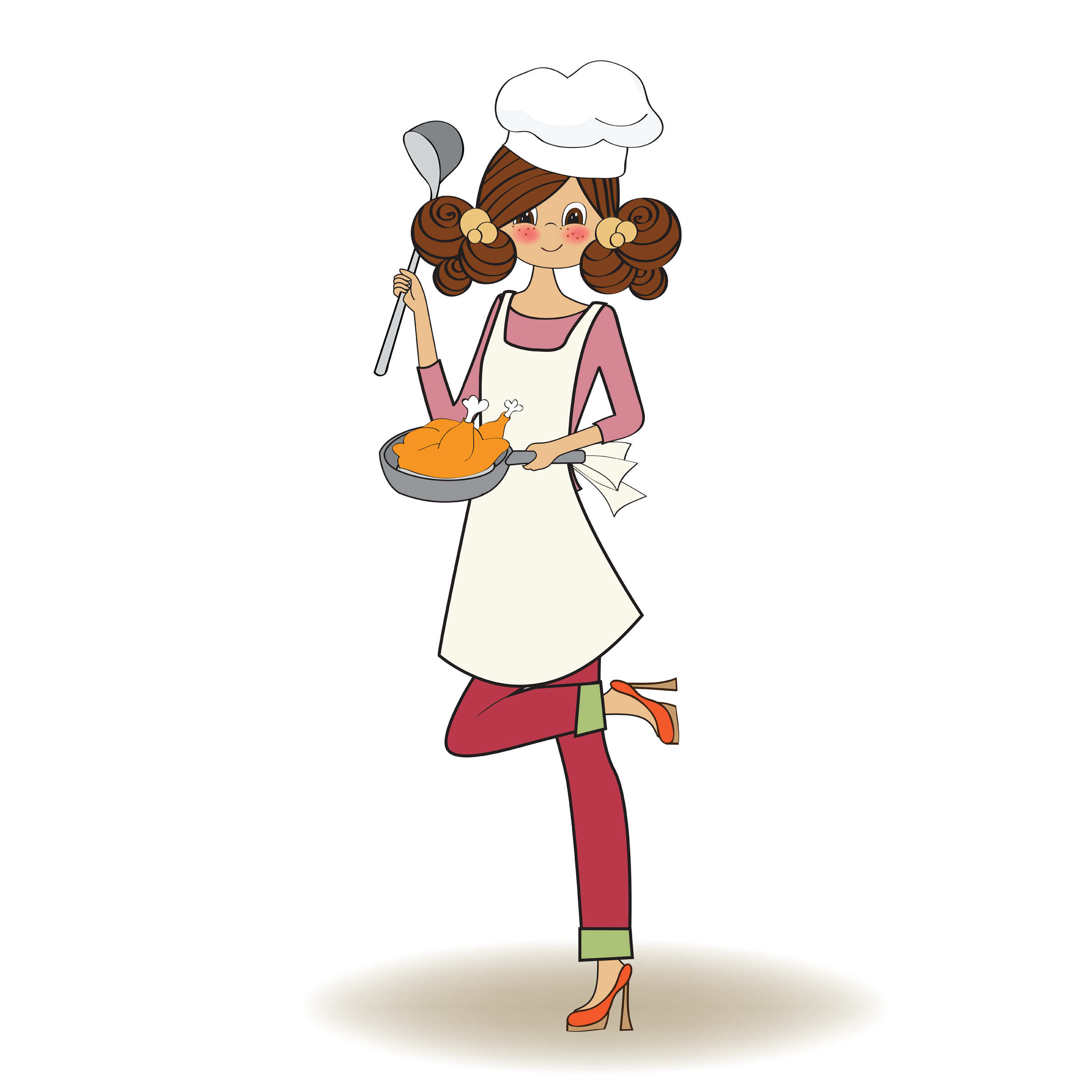 lady chef logo design ideas - photo #38