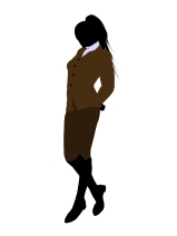 Female Office Business Silhouette